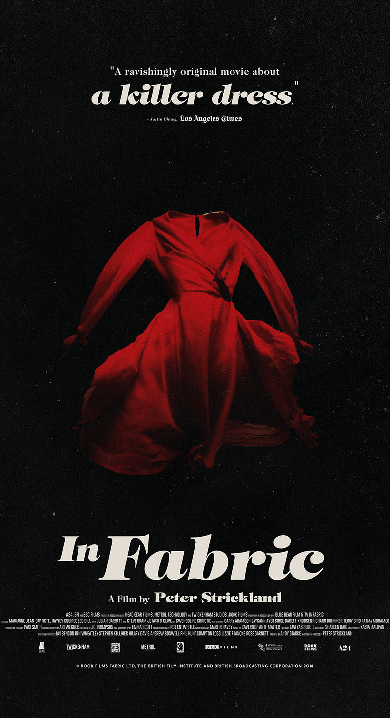 """Too Risqué for General Audiences"": The Unrated Director's Cut of A24's 'In Fabric' is Now Available Digitally!"