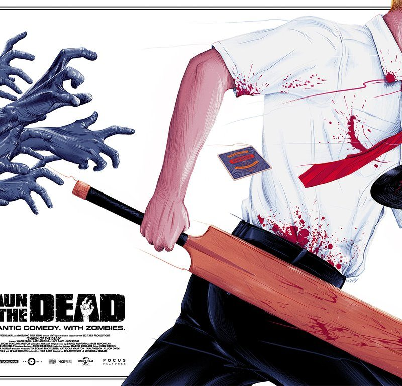 "Awesome Poster Series Pays Tribute to 'Shaun of the Dead' and Edgar Wright's ""Cornetto Trilogy"""