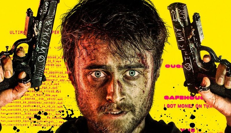 Official Trailer and Poster for GUNS AKIMBO, Starring Daniel Radcliffe & Samara Weaving – Daily Dead