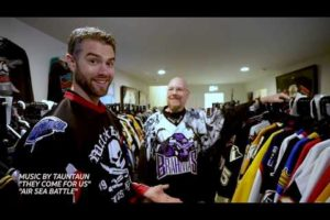Knight Life – Brian Slagel's hockey jersey collection