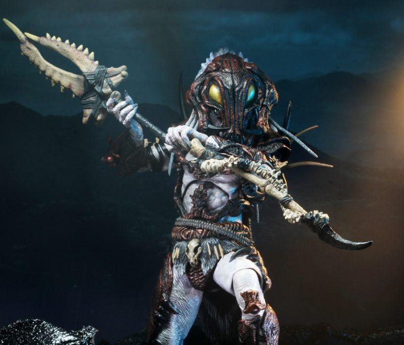 "NECA's ""Alpha Predator"" Figure Includes Mask Based on Unused Jean-Claude Van Damme Costume!"