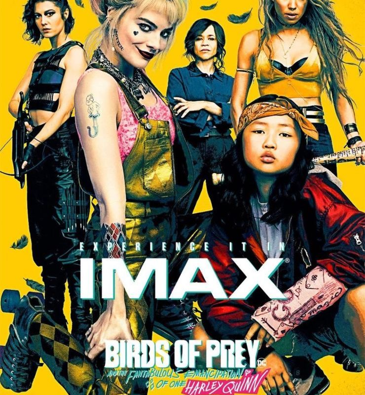 New IMAX Poster Assembles Harley Quinn and the 'Birds of Prey'