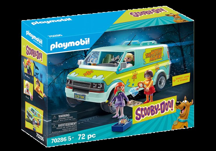New 'Scooby-Doo' Line from Playmobil Includes the Mystery Machine and Blind Bag Ghosts!