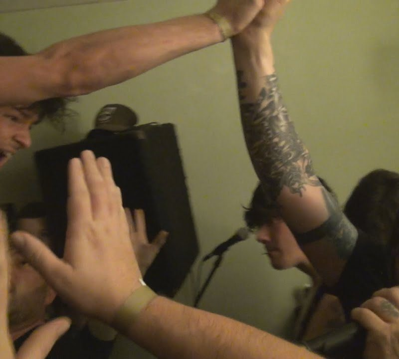 Watch NORMA JEAN Play A House Show In Kentucky A Few Days Ago