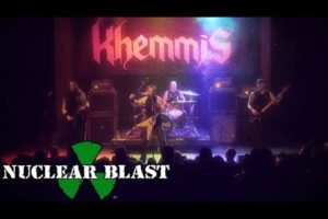 KHEMMIS – 'Rainbow In The Dark' Ronnie James Dio Cover (OFFICIAL LIVE VIDEO)