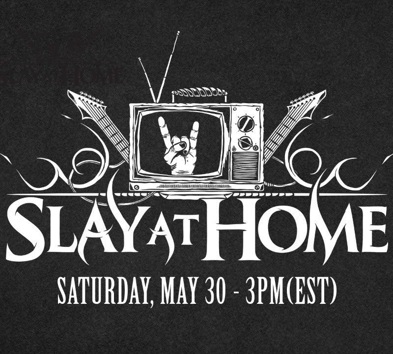 Watch: SLAY AT HOME Free Virtual Metal & Art Fest Day 2