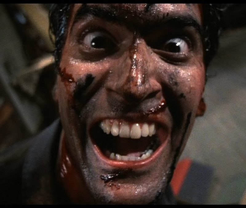 Watch Foley Artist Tara Blume Recreate the Sounds of 'Evil Dead II' While Home in Quarantine [Video]