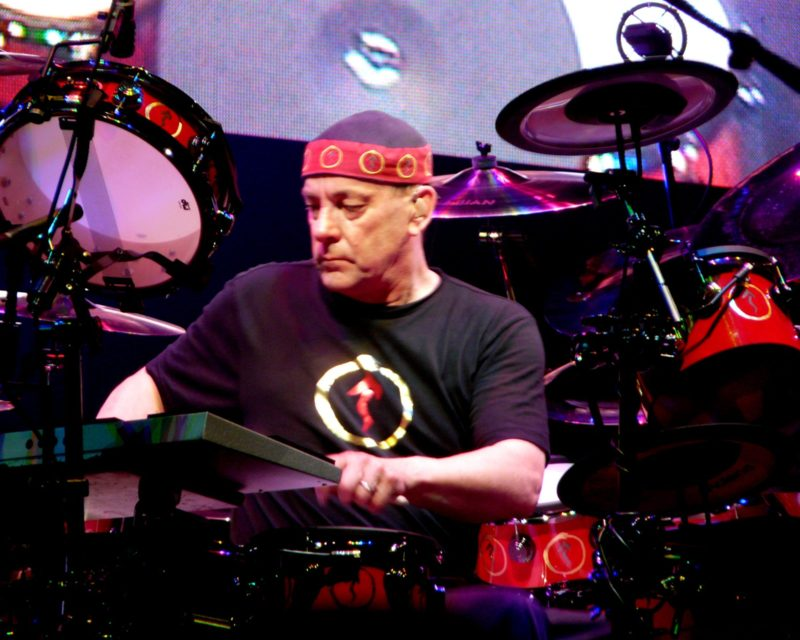 RUSH's Neil Peart Honored With Pavilion At Lakeside Park