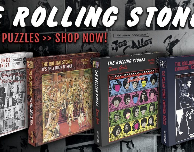 Classic Rolling Stones Album Cover Jigsaw Puzzles Coming Soon via Rock Saws
