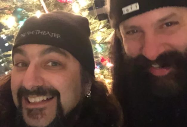 "Former Dream Theater Drummer Mike Portnoy Guests on John Petrucci's New Solo Album, ""Terminal Velocity""  