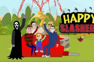 """Happy Slashers"": Animated Fan Project Brings Horror Icons Together for a Bloody Good Time"