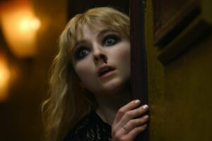 'Last Night in Soho': Thomasin McKenzie Has a Nosebleed in New Image from Edgar Wright's Horror Movie