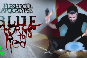 'Nuclear Blast : FLESHGOD APOCALYPSE – Blue (Turns To Red) (OFFICIAL DRUM PLAYTHROUGH)'