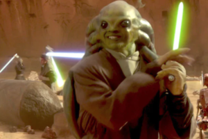 'Slash Film: An Ode to Kit Fisto: Bad in the 'Star Wars' Films, but Pretty Good Everywhere Else'