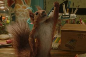 'Slash Film: 'Flora & Ulysses' Trailer: A Young Girl Finds a Squirrel Who Happens to Be a Superhero'
