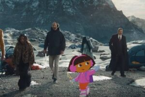 'Slash Film: Paramount+ Ads Send 'Star Trek', 'Jersey Shore' and 'Dora the Explorer' Up the Paramount Mountain'