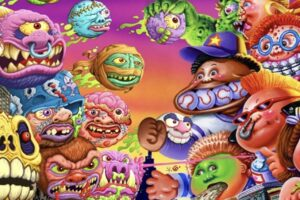 The 'Garbage Pail Kids' and the 'Madballs' Join Forces for a Crossover Collaboration This Year!