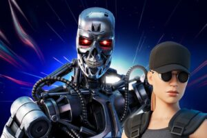 'The Terminator's' T-800 and Sarah Connor Join 'Fortnite' – iHorror