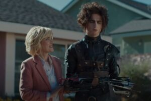 Cadillac's Super Bowl Commercial is an 'Edward Scissorhands' Sequel With Timothée Chalamet and Winona Ryder! [Video]