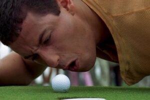 'Coming Soon: Adam Sandler Celebrates Happy Gilmore's 25th Anniversary on the Golf Course'