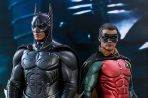 'Coming Soon: Hot Toys Unveils Batman Forever-Inspired Batman and Robin Figures!'