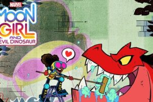'Coming Soon: Marvel's Moon Girl and Devil Dinosaur Sets Voice Cast Including Alfre Woodard'