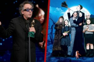 'Coming Soon: Tim Burton & Netflix Teaming for Live-Action Wednesday Addams Series'