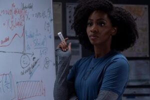 'Coming Soon: WandaVision: Teyonah Parris Excited For the Aerospace Engineer Reveal'