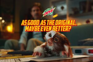 Gizmo and Billy Reunite In New Mountain Dew Advert