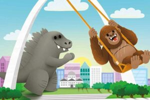 'Godzilla vs. Kong: Sometimes Friends Fight': Preview of Upcoming Children's Book Will Warm Your Heart