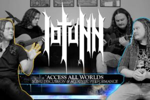 'Metal Blade : Iotunn – Access All Worlds – Song Discussion & Acoustic Performance'