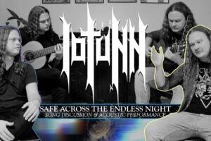 'Metal Blade : Iotunn – Safe Across the Endless Night – Song Discussion & Acoustic Performance'
