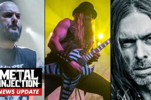 Metal Injection: PANTERA Reunion Talk, SLAYER Banter & 8 Other Stories You May Have Missed This Week