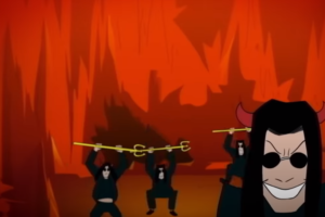 """Metal Underground – Ozzy Osbourne Premieres New Animated Music Video For """"It's A Raid"""" – Post Malone Guests"""