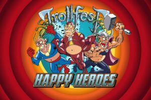"Metal Underground – Trollfest Posts New Animated Music Video ""Happy Heroes"" Online"