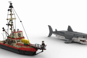 One Fan's LEGO IDEAS Project Imagines a 'Jaws' Playset That Could Become Real With Your Help