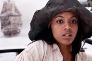 Pirates Of The Caribbean Actress Zoe Saldana's New Movie Will Have Her Fighting Pirates… In The Caribbean