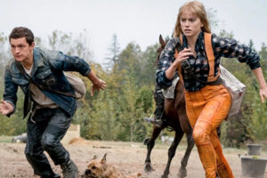'Slash Film: 'Chaos Walking' Clip: Tom Holland and Daisy Ridley Are on the Run'