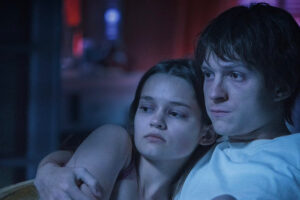 'Slash Film: 'Cherry' Review: Tom Holland Tries His Best to Save This Bloated Mess From the Russo Brothers'