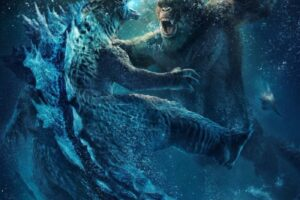 'Slash Film: 'Godzilla vs. Kong' Poster Teases More Monster Action For the Film, Which Will Introduce an Evil Corporation Inspired by Amazon'
