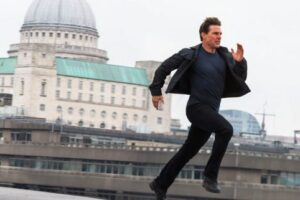 'Slash Film: 'Mission: Impossible 7' First Look Features Tom Cruise Doing What He Does Best: Running'