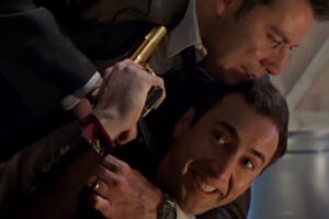 """'Slash Film: 'Face/Off' Sequel: Director Adam Wingard Tells Us to """"Read Between the Lines"""" About the Possible Return of Cage and Travolta'"""