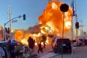 'Slash Film: Watch: Michael Bay Shares an Explosive Stunt Video From His Latest Movie, 'Ambulance''