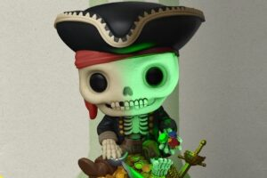 "The 'Pirates of the Caribbean' Ride Comes to Your Toy Shelf With ""Skeleton on Gold Pile"" from Funko"