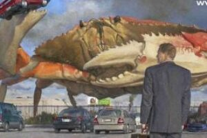 Wolfgang Van Halen's debut album has the greatest giant crab-themed cover you'll see this year