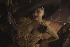 6'9″ Russian Olympian Earns Gold For This 'Resident Evil Village' Lady Dimitrescu Cosplay