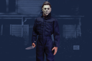 Accessory Pack for Michael Myers Figure from Trick or Treat Studios Includes Ghost Sheet and More