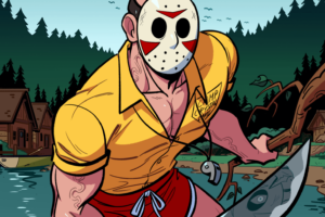 """Animator Puts Positive Spin on Jason Voorhees and the 'Friday the 13th' Films With """"Camp Counselor Jason"""""""
