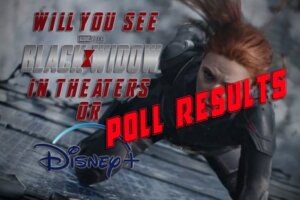 'Coming Soon: POLL RESULTS: Will You See Black Widow on Disney+ or in Theaters?'