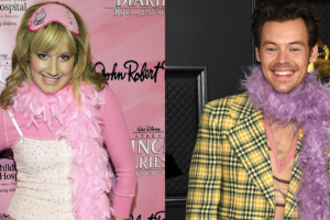 High School Musical's Ashley Tisdale Just Had A Great Reaction To Harry Styles' Grammys Outfit